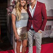 NLD/Amsterdam/20131111 - Beau Monde Awards 2013, Monique Smit en Tim Douwsma