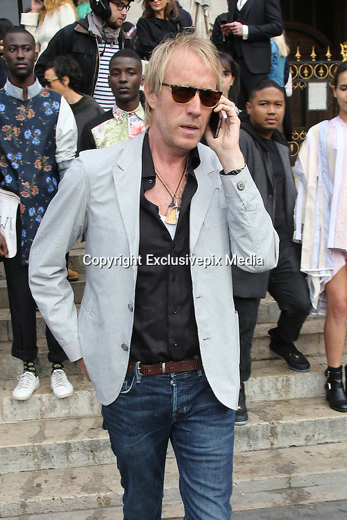 RHYS IFANS  - FASHION WEEK DE PARIS -  STELLA MCCARTNEY<br /> &copy;Exclusivepix Media