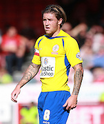 Accrington Stanley striker Josh Windass during the Sky Bet League 2 match between Crawley Town and Accrington Stanley at the Checkatrade.com Stadium, Crawley, England on 26 September 2015. Photo by Bennett Dean.