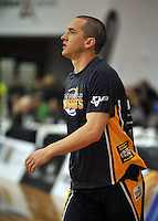 Mark Dickel warms up prior to,  the NBL match, between the Otago Nuggets and Manawatu Jets, Lion Foundation Arena, Edgar Centre, Dunedin, Otago, New Zealand, Saturday, June 8, 2013. Credit: Joe Allison / Allison Images