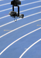 TV CAMERA & TRACK ON THE OLYMPIC STADION ( OLIMPIASTADION ) DURING 12TH IAAF WORLD CHAMPIONSHIPS IN ATHLETICS BERLIN 2009..BERLIN , GERMANY , AUGUST 15, 2009..( PHOTO BY ADAM NURKIEWICZ / MEDIASPORT )..PICTURE ALSO AVAIBLE IN RAW OR TIFF FORMAT ON SPECIAL REQUEST.