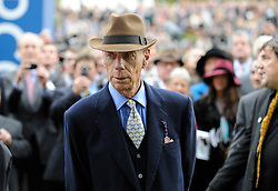 Sir Henry Cecil, 10-time champion trainer, has died at the age of 70.<br /> Responsible for 25 British Classic winners, Cecil was also the leading handler at Royal Ascot with a record 75 successes.<br /> ASCOT  20/10/12<br /> THE QIPCO CHAMPION STAKES.<br /> Trainer SIR HENRY CECIL.<br /> Photo by: Racingfotos.com / i-Images.