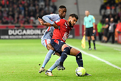 September 22, 2017 - Lille, France - 26 Fares BAHLOULI (lil) - 15 Adama DIAKHABY  (Credit Image: © Panoramic via ZUMA Press)