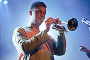 Photos of the Icelandic band Samuel J. Samuelsson Big Band performing at Reykjavik Art Museum for Iceland Airwaves music festival. October 15, 2011. Copyright © 2011 Matthew Eisman. All Rights Reserved.
