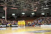Diamonds pre match. Constellation cup netball. Silver Ferns v Australian Diamonds at ILT Velodrome, Invercargill, New Zealand. Sunday 15th september 2013. New Zealand. Photo: Richard Hood/photosport.co.nz