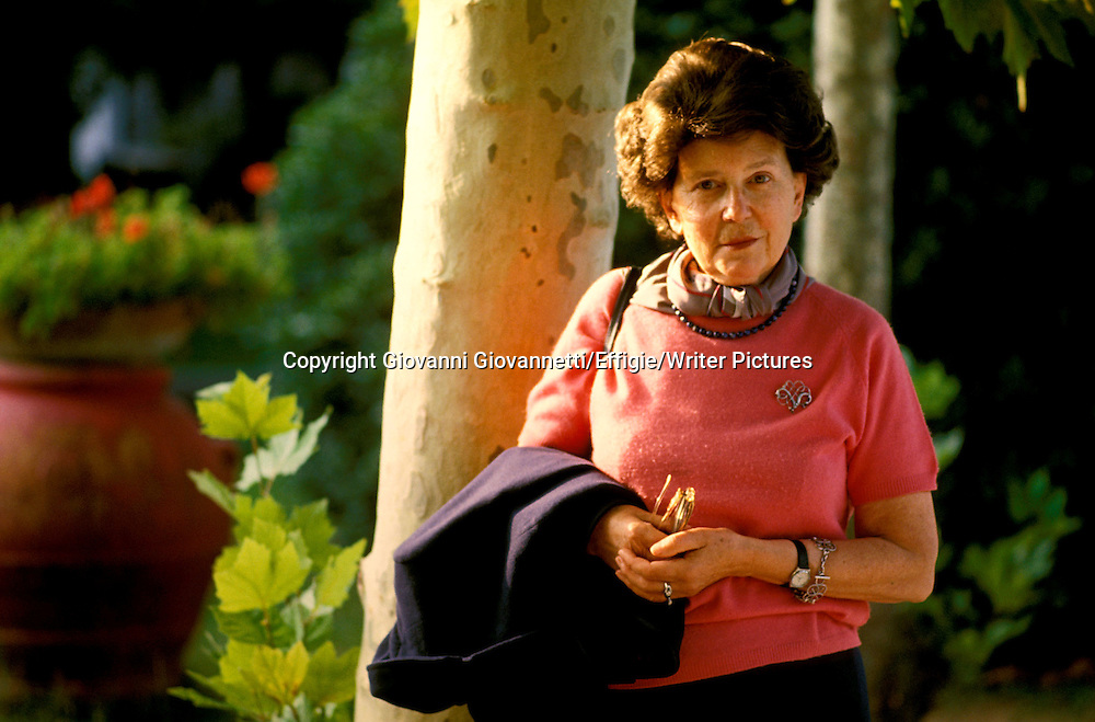 Maria Corti<br /> <br /> <br /> 25/09/2006<br /> Copyright Giovanni Giovannetti/Effigie/Writer Pictures<br /> NO ITALY, NO AGENCY SALES