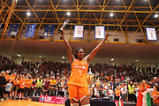 Isabelle Yacoubou,<br /> Passalacqua Ragusa vs Famila Schio<br /> Lega Basket Femminile 2017/2018<br /> Schio, 13/05/2018<br /> Foto E. Castoria/Ag. Ciamillo-Castoria