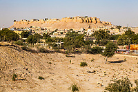 The Jaisalmer Fort sits above the town of Jaisalmer, Rajasthan, India.