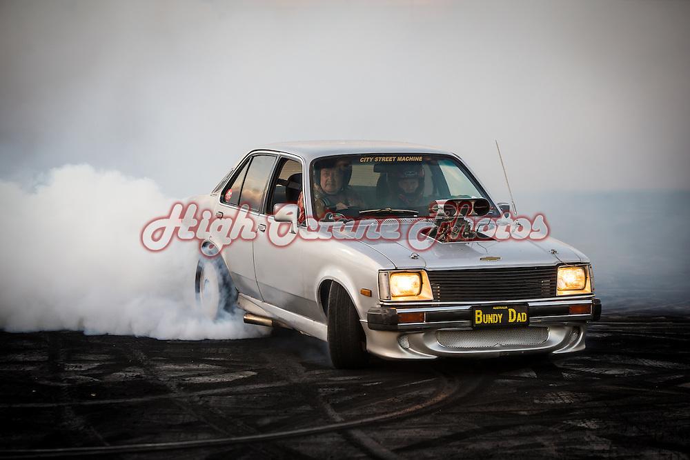 26 - Roland Kubitza - BUNDY DAD - 1980 Holden Gemini - Silver - V8
