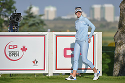 August 23, 2018 - Regina, SK, U.S. - REGINA, SK - AUGUST 23: Jessica Korda (USA) looks down 12 during the CP Women's Open Round 1 at Wascana Country Club on August 23, 2018 in Regina, SK, Canada. (Photo by Ken Murray/Icon Sportswire) (Credit Image: © Ken Murray/Icon SMI via ZUMA Press)