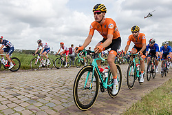 TEUNISSEN Mike from NETHERLANDS during Men Elite Road Race 2019 UEC European Road Championships, Alkmaar, The Netherlands, 11 August 2019. <br /> <br /> Photo by Thomas van Bracht / PelotonPhotos.com <br /> <br /> All photos usage must carry mandatory copyright credit (Peloton Photos | Thomas van Bracht)