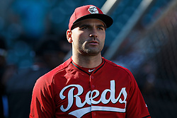 SAN FRANCISCO, CA - JULY 26: Joey Votto #19 of the Cincinnati Reds looks on during batting practice before the game against the San Francisco Giants at AT&T Park on July 26, 2016 in San Francisco, California.  The San Francisco Giants defeated the Cincinnati Reds 9-7. (Photo by Jason O. Watson/Getty Images) *** Local Caption *** Joey Votto