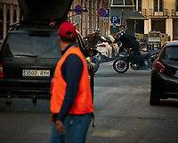 Movie Crew Filming Motorcycle Action. Image taken with a Fuji X-T3 camera and 80 mm f/2.8 macro lens (ISO 160, 80 mm, f/4, 1/250 sec).