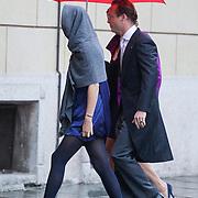 ITA/Parma/20120929- Doop prinses Luisa Irene, aankomst prins Jaime