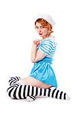 2015 Sailor Pinup - Jessie James Hollywood