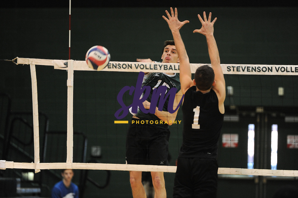 Stevenson men's volleyball continues home win streak with 3-0 match victory over Rutgers-Newark with set scores of 25-18, 25-23 and 25-9 on Saturday afternoon at Owings Mills gymnasium.