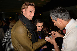 Jack Fox and Samantha Barks at The Ivy Chelsea Garden's Guy Fawkes Party, 197 King's Road, London, England. 05 November 2017.