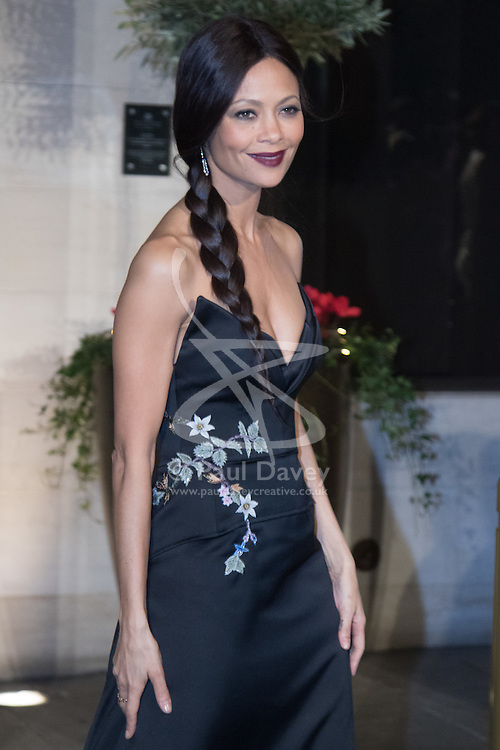 Photo Must Be Credited ©Alpha Press<br /> Thandie Newton arrives at the EE British Academy Film Awards after party dinner at the Grosvenor House Hotel in London.