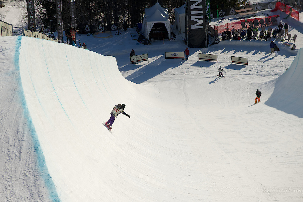 The 2012 Burton US Open Junior Jam on Sunday afternoon March 11, 2012 in Stratton, Vermont.