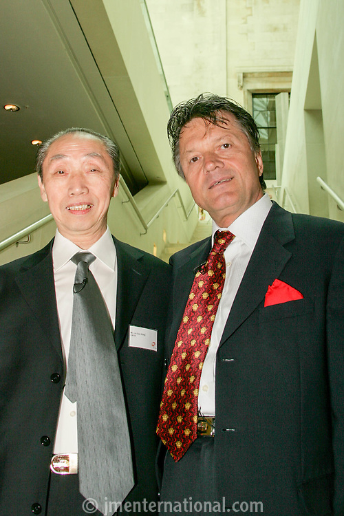 Fran Nevrkla (PPL Chairman and CEO), Mr Liu Guo Xiong, President of China Audio Video Association (CAVA)