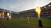 London, Great Britain,  pre match entertainment,  2015 Rugby World Cup Final. New Zealand vs Australia,, Twickenham Stadium,London. England,, Saturday  31/10/2015. <br /> [Mandatory Credit; Peter Spurrier/Intersport-images]