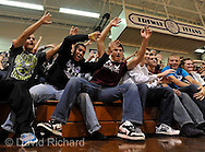 Tessa Brooks and the Wendy's High School Heisman national finalist Pep Rally at Wooster Triway High School. .Images © David Richard and may not be copied, posted, published or printed without permission..