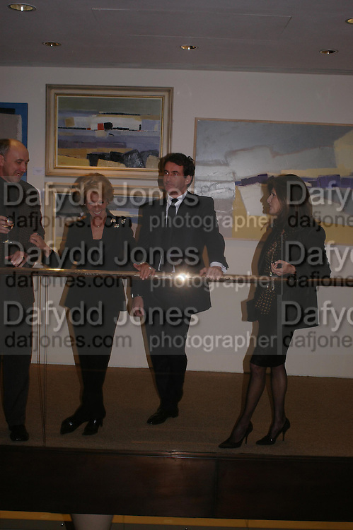 The Duchess of Marlborough, Tim Jefferies and Marina Palma. 'The Road to Abtsraction' an exhibition of paintings by Rosita Marlborough. the Fleming Collection. 13 Berkeley St. London W1. 31 March 2005. ONE TIME USE ONLY - DO NOT ARCHIVE  © Copyright Photograph by Dafydd Jones 66 Stockwell Park Rd. London SW9 0DA Tel 020 7733 0108 www.dafjones.com