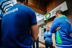 Head coach Ljubomir Vranješ during meeting after COVID-19 of Slovenian handball national team at dvorana Kodeljevo on May 26th 2020, Ljubljana, Slovenia. Photo by Sinisa Kanizaj / Sportida