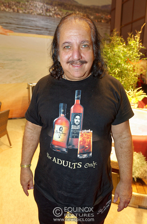 Berlin, Germany - 18 October 2012<br /> Porn star Ron Jeremy promoting his 'Ron Jeremy' brand of rum at the Venus Berlin 2012 adult industry exhibition in Berlin, Germany. Ron Jeremy, born Ronald Jeremy Hyatt, has been an American pornographic actor since 1979. He faces sexual assault allegations which he strenuously denies. There is no suggestion that any of the people in these pictures have made any such allegations.<br /> www.newspics.com/#!/contact<br /> (photo by: EQUINOXFEATURES.COM)<br /> Picture Data:<br /> Photographer: Equinox Features<br /> Copyright: &copy;2012 Equinox Licensing Ltd. +448700 780000<br /> Contact: Equinox Features<br /> Date Taken: 20121018<br /> Time Taken: 12334852