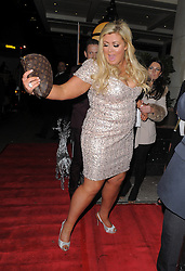 The Only Way Is Essex star Gemma Collins attends the OK Christmas Party at Sway nightclub in Covent Garden, London, UK. 27/11/2012<br />BYLINE MUST READ : GOTCHAIMAGES.COM<br /><br />Copyright by © Gotcha Images Ltd. All rights reserved.<br />Usage of this image is conditional upon the acceptance <br />of Gotcha Images Ltd, terms and conditions available at<br />www.gotchaimages.com