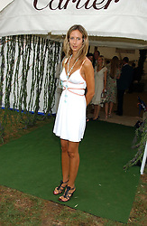 LADY VICTORIA HERVEY  at the 2005 Cartier International Polo between England & Australia held at Guards Polo Club, Smith's Lawn, Windsor Great Park, Berkshire on 24th July 2005.<br />
