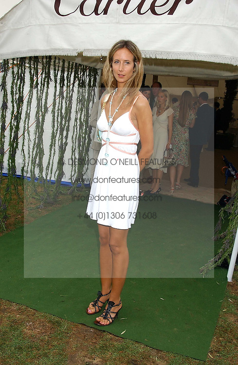 LADY VICTORIA HERVEY  at the 2005 Cartier International Polo between England & Australia held at Guards Polo Club, Smith's Lawn, Windsor Great Park, Berkshire on 24th July 2005.<br /><br />NON EXCLUSIVE - WORLD RIGHTS