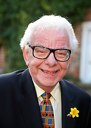 A audience with Barry Cryer at the Watermill Theatre,Newbury,Berks, where they read excerpts from how and his son Bob's  new book Mrs.Hudson's Diaries .Friday, 7th February 2014. Picture by i-Images