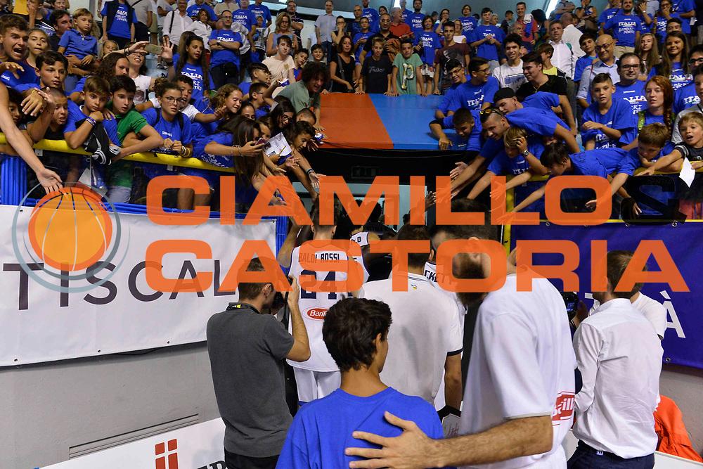 CAGLIARI 13 AGOSTO 2017<br /> Torneo di Cagliari Nazionale Italiana<br /> Italia - Turchia    Italy - Turkey<br /> NELLA FOTO Pubblico Italia<br /> FOTO CIAMILLO