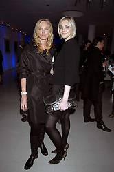 Left to right, JOELY RICHARDSON and SOPHIE DAHL attending the Tag Heuer party where an exhibition of photographs by Mary McCartney celebrating 15 exception women from 15 countries was unveiled at the Royal College of Arts, Kensington Gore, London on 8th February 2007.<br /><br />NON EXCLUSIVE - WORLD RIGHTS