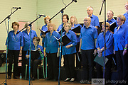 One Achord choir performing in the St Mathews Hall, Guildford, at the 2018 Guildford Songfest