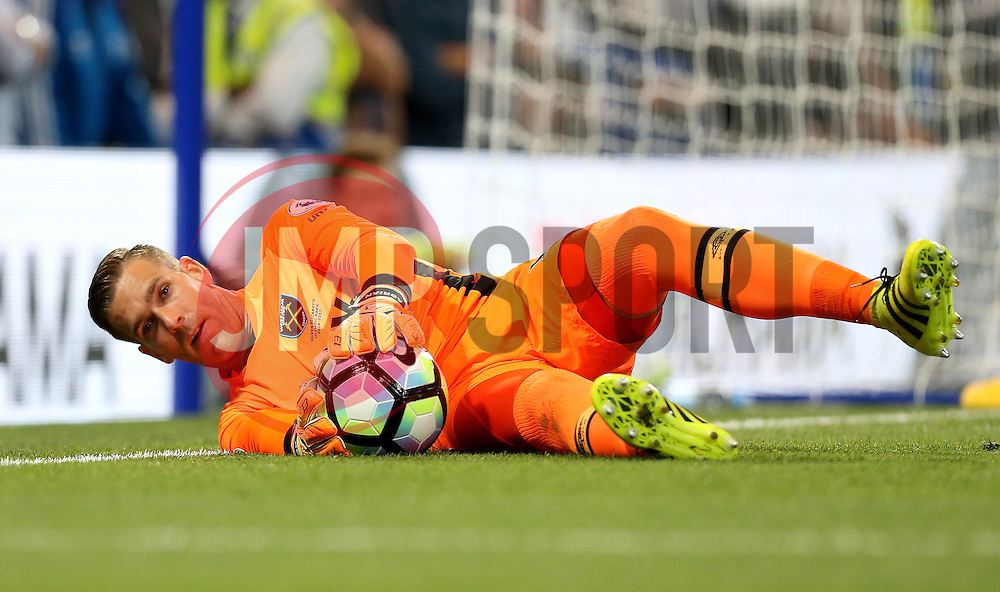 Adrian of West Ham United stops the ball from going out for a corner - Mandatory by-line: Robbie Stephenson/JMP - 15/08/2016 - FOOTBALL - Stamford Bridge - London, England - Chelsea v West Ham United - Premier League