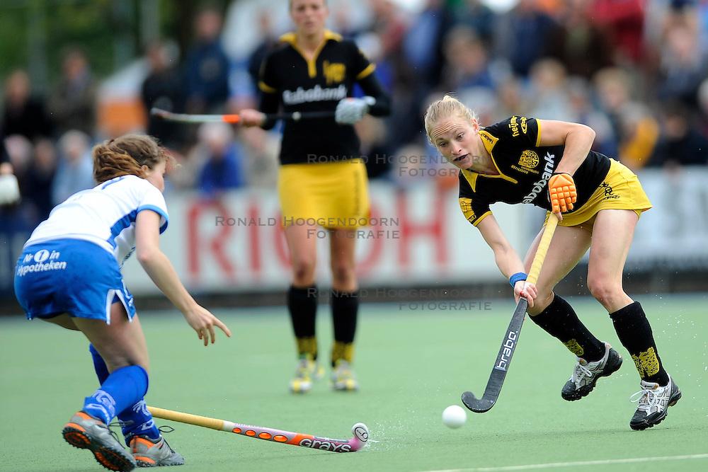 01-05-2010 HOCKEY: KAMPONG - DEN BOSCH: UTRECHT <br /> Kampong verliest de eerste wedstrijd in de play-offs met 1-0 van Den Bosch / <br /> Maartje Goderie<br /> &copy;2010-WWW.FOTOHOOGENDOORN.NL