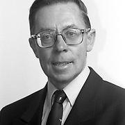 NLD/Huizen/19911114 - Henk van Amstel SGP raadslid gemeenteraad Huizen