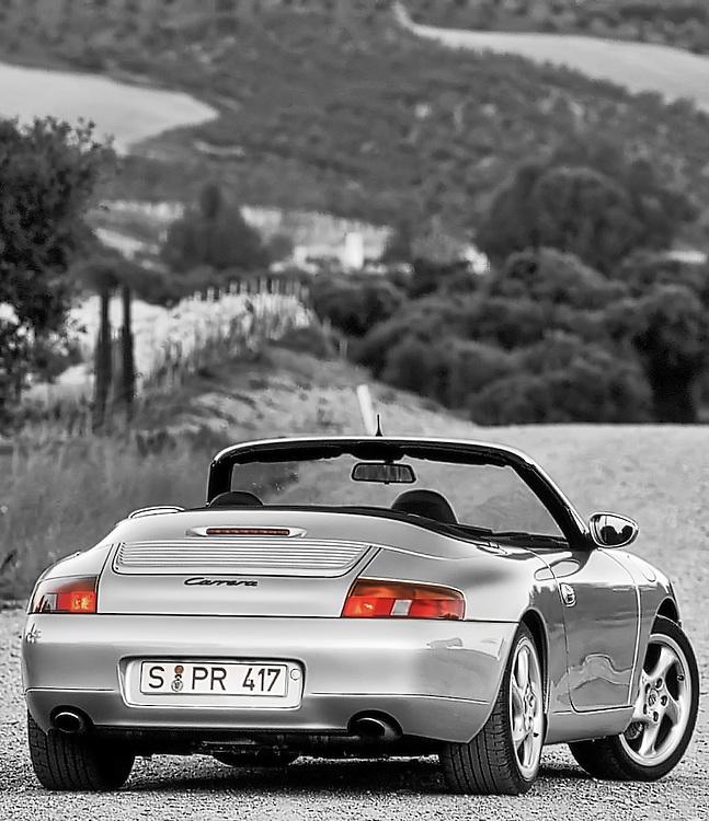 Porsche 996 Convertible,<br /> Andalucia, Spain 1998