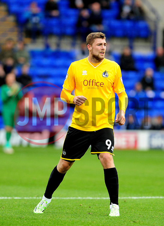 Bristol Rovers' Ryan Brunt - Photo mandatory by-line: Neil Brookman/JMP - Mobile: 07966 386802 - 08/11/2014 - SPORT - Football - Birkenhead - Prenton Park - Tranmere Rovers v Bristol Rovers - FA Cup - Round One