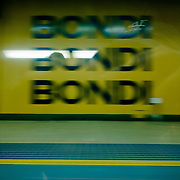 Bondi Junction. Sydney subway