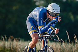 Peter Koning of Aqua Blue Sport, Dutch Individual Time Trial Nationals Men Elite, Stokkum, Montferland, The Netherlands, 21 June 2017. Photo by Pim Nijland / PelotonPhotos.com | All photos usage must carry mandatory copyright credit (Peloton Photos | Pim Nijland)
