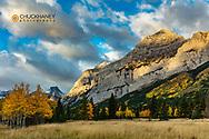 Mount Kidd in autumn in Kananaskis Country, Alberta, Canada