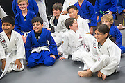 Garrett Imfeld during a jiu-jitsu lesson at US Blackbelt Academy on Thursday, March 26, 2015 in Laguna Niguel, Calif. (Photo/Josh Barber)
