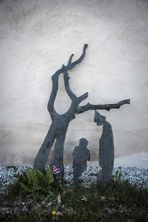 Skulptur av Herman Lindgren