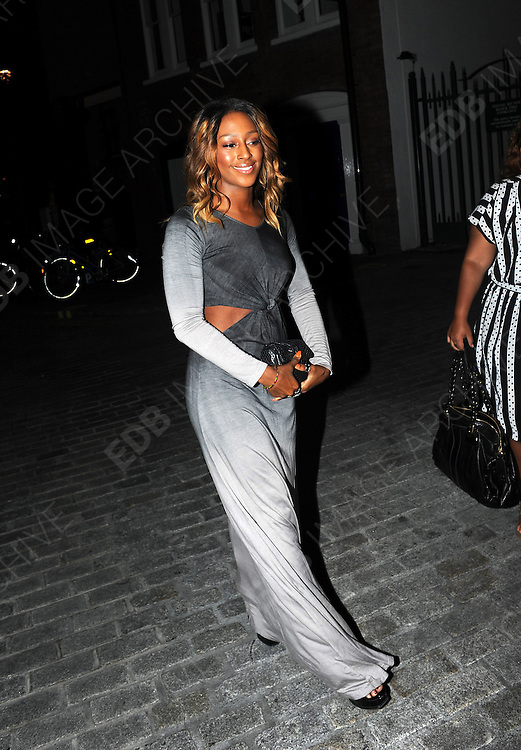 09.AUGUST.2012. LONDON<br /> <br /> NAOMI CAMPBELL HOST A CHARITY DINNER AT DOWN TOWN MAYFAIR RESTAURANT AND BAR , LONDON UK.<br /> <br /> BYLINE: EDBIMAGEARCHIVE.CO.UK<br /> <br /> *THIS IMAGE IS STRICTLY FOR UK NEWSPAPERS AND MAGAZINES ONLY*<br /> *FOR WORLD WIDE SALES AND WEB USE PLEASE CONTACT EDBIMAGEARCHIVE - 0208 954 5968*