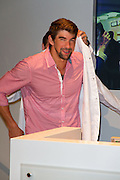 04.JUNE.2013. BERLIN<br /> <br /> MICHAEL PHELPS ATTENDS THE OPENING OF OMEGA CO-AXIAL EXHIBITION HELD AT KADEWE, BERLIN, GERMANY.<br /> <br /> BYLINE: EDBIMAGEARCHIVE.CO.UK<br /> <br /> *THIS IMAGE IS STRICTLY FOR UK NEWSPAPERS AND MAGAZINES ONLY*<br /> *FOR WORLD WIDE SALES AND WEB USE PLEASE CONTACT EDBIMAGEARCHIVE - 0208 954 5968*