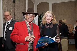 17/12/2015<br /> 17 December 2015<br /> Pictured at The Ireland - U.S. Council Holiday Season Member - Guest Reception at the InterContinental Hotel, Dublin were (L-R):<br /> John Farrell, Broadcaster and<br /> Cliodna Buckley, Buckley Properties.