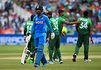 Cricket - 2019 ICC Cricket World Cup - Group Stage: Bangladesh vs. India<br /> <br /> India's KL Rahul dejected as he is dismissed for 77, caught by Bangladesh's Mushfiqur Rahim off the bowling of Rubel Hossain, at Edgbaston<br /> <br /> COLORSPORT/ASHLEY WESTERN